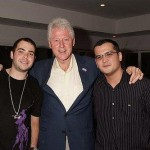DJ Vibe & Bill Clinton