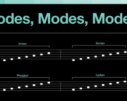 Music Theory Tutorial: Modes, Modes, Modes….What Are They Good For?